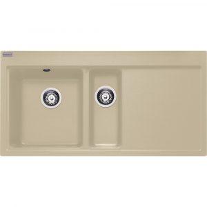 Franke MTG651-100 RHD CO Mythos Fragranite Sink 1.5 Bowl Right Hand Drainer – COFFEE