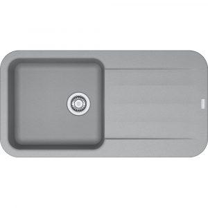 Franke PBG611-970 SG Pebel Fragranite Single Bowl Sink – STONE GREY
