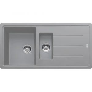 Franke BFG651 SG Basis Fragranite 1.5 Bowl Sink – STONE GREY