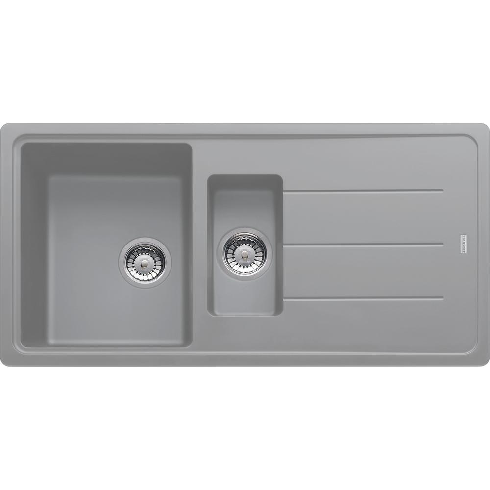 Image of Franke BFG651 SG Basis Fragranite 1.5 Bowl Sink - STONE GREY