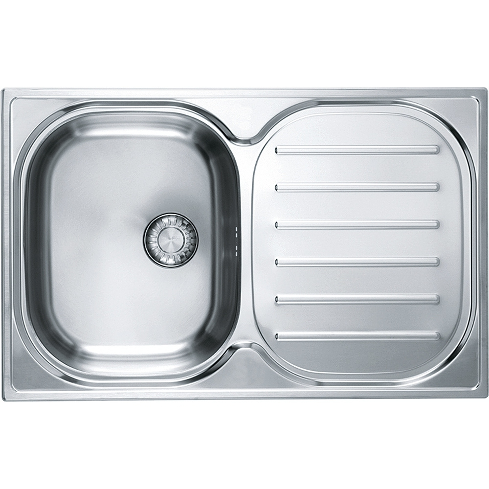 Image of Franke CPXP611-780 RHD Compact Plus Sink Right Hand Drainer - STAINLESS STEEL