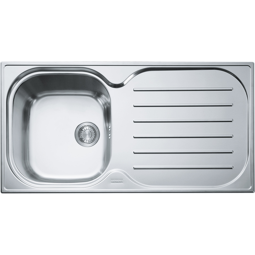 Image of Franke CPXP611-965 RHD Compact Plus Sink With Right Hand Drainer - STAINLESS STEEL