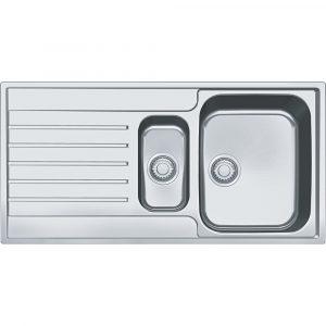 Franke AGX651 Argos 1.5 Bowl Sink Reversible Drainer – STAINLESS STEEL