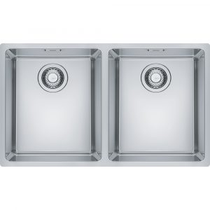 Franke MRX220 34-34 Maris Bowl Double Bowl Sink – STAINLESS STEEL