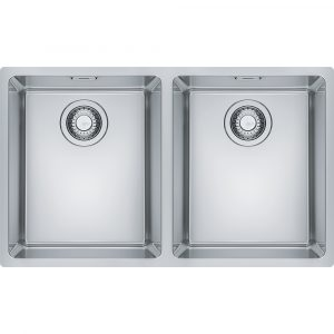 Franke MRX120 34-34 Maris Bowl Double Bowl Undermount Sink – STAINLESS STEEL