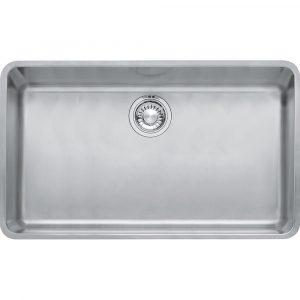Franke KUBUS KBX110 70 Kubus Single Bowl Undermount Sink – STAINLESS STEEL
