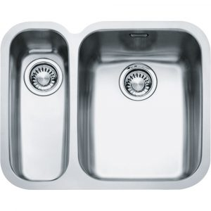 Franke ARX160-D LHSB Ariane 1.5 Bowl Undermount Sink Left Hand Small Bowl – SILKSTEEL