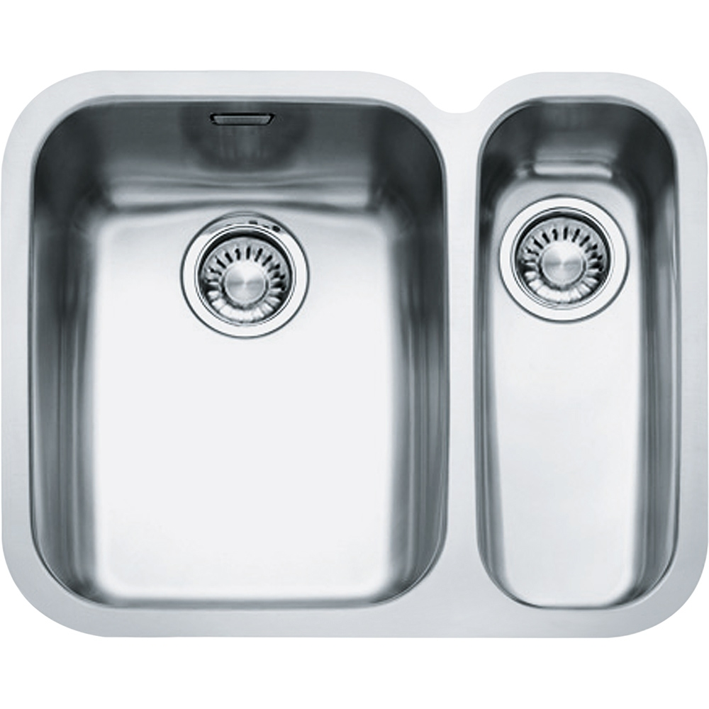 Image of Franke ARX160-D RHSB Ariane 1.5 Bowl Undermount Sink Right Hand Small Bowl - STAINLESS STEEL