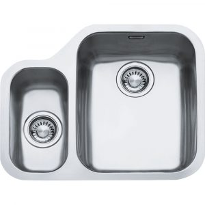 Franke ARX160 LHSB Ariane 1.5 Bowl Undermount Sink Left Hand Small Bowl – STAINLESS STEEL