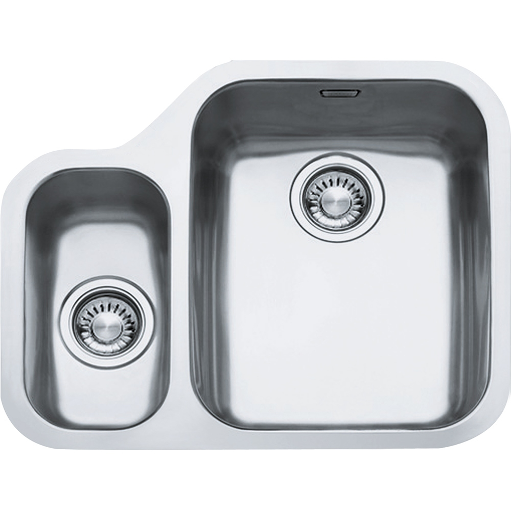 Image of Franke ARX160 LHSB Ariane 1.5 Bowl Undermount Sink Left Hand Small Bowl - STAINLESS STEEL