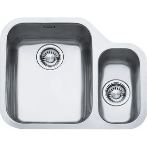 Franke ARX160 RHSB Ariane 1.5 Bowl Undermount Sink Right Hand Small Bowl – SILKSTEEL