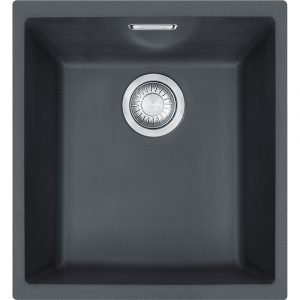 Franke SID110 34 CB Sirius Tectonite Single Bowl Sink – BLACK