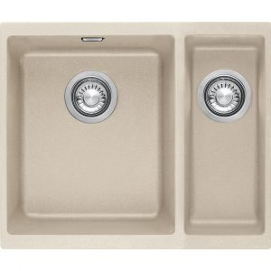 Franke SID160 CO Sirius Tectonite 1.5 Bowl Undermount Sink Right Hand Small Bowl – COFFEE