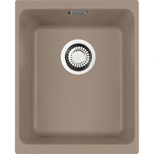 Franke KUBUS KBG110 34 OY Kubus Single Bowl Sink – OYSTER
