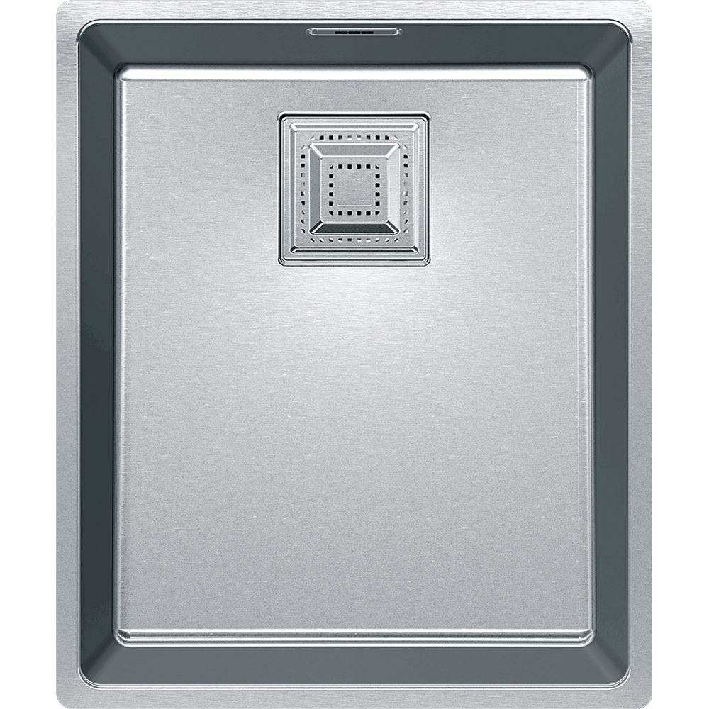 Image of Franke CMX110 34 Centinox Single Bowl Undermount Sink - STAINLESS STEEL