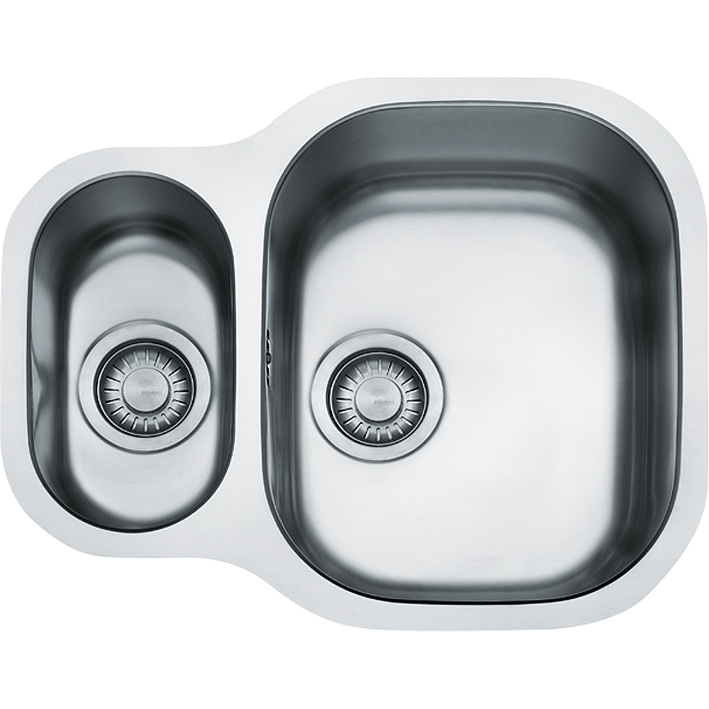Image of Franke CPX160P Compact Plus 1.5 Bowl Undermount Sink - STAINLESS STEEL
