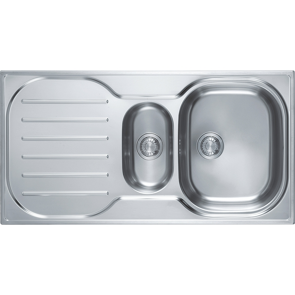 Image of Franke CRXP651 Compact Plus 1.5 Bowl Sink - STAINLESS STEEL