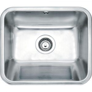 Franke UTX610 Utility Single Bowl Inset Sink – STAINLESS STEEL