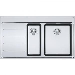 Franke FSX251 TPL SS LHD Frames By Franke 1.5 Bowl Sink Left Hand Drainer – STAINLESS STEEL