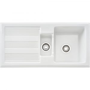 Franke GAK651 Galassia 1.5 Bowl Ceramic Sink – WHITE