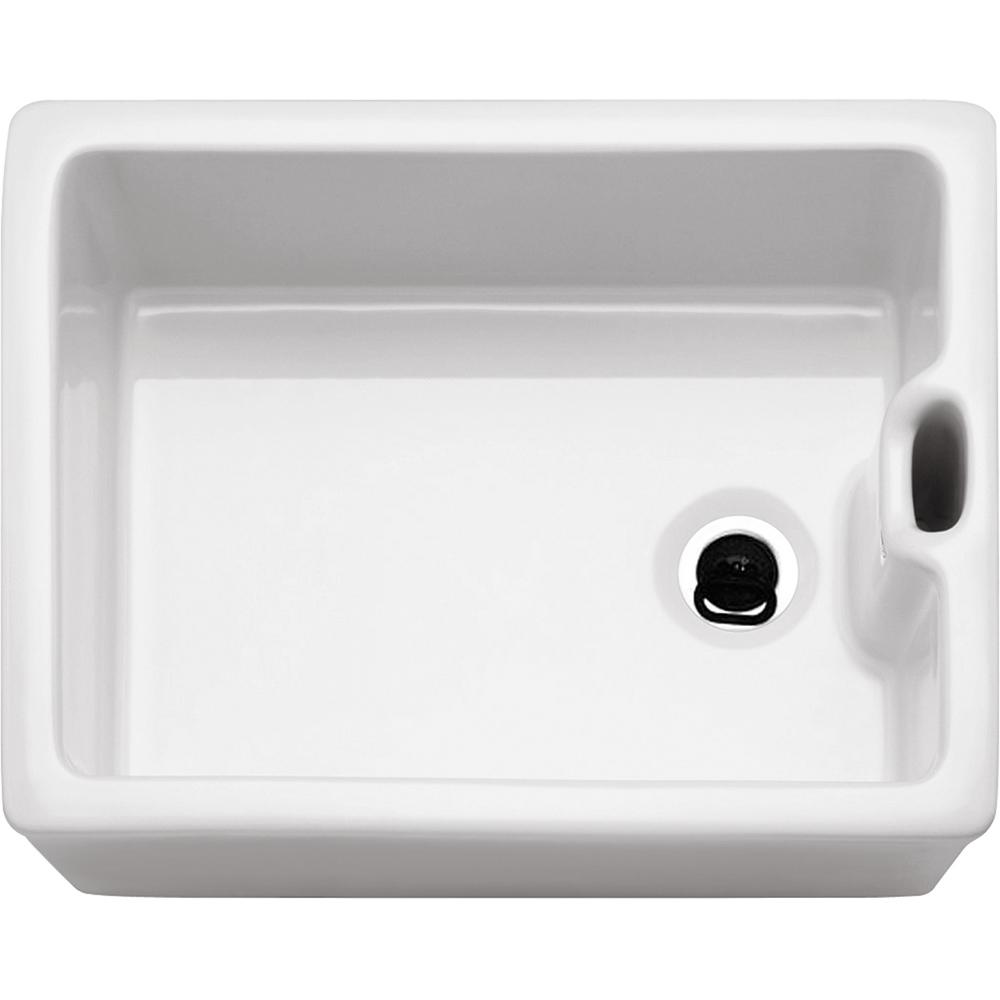 Image of Franke BAK710 Belfast Ceramic Single Bowl Sink - WHITE
