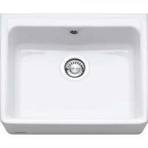 Franke VBK710WH Belfast Single Bowl Ceramic Sink – WHITE