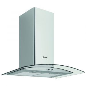 Caple CGC711SS 70cm Curved Glass Chimney Hood – STAINLESS STEEL