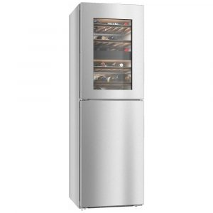Miele KWNS28462ECLST 60cm Frost Free Freezer With Wine Cooler – STAINLESS STEEL