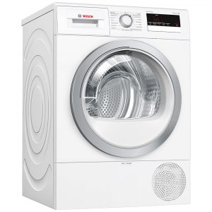 Whirlpool HSCX90423 9kg Supreme Care Heat Pump Condenser Tumble Dryer – WHITE