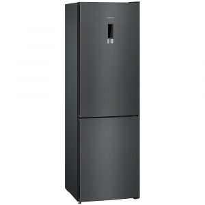 Siemens KG36NXX3AG IQ-300 60cm Freestanding Frost Free Fridge Freezer – BLACK STEEL