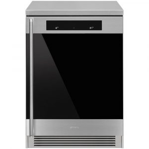 Smeg CVF338X 60cm Freestanding Undercounter Wine Cooler Right Hinged – STAINLESS STEEL