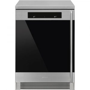 Smeg CVF338XS 60cm Freestanding Undercounter Wine Cooler Left Hinged – STAINLESS STEEL