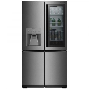 LG LSR100 Signature Instaview French Style Fridge Freezer With Ice & Water – STAINLESS STEEL