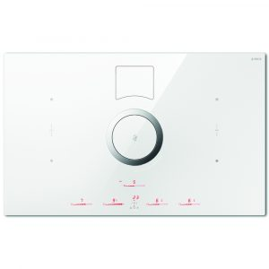 Elica NIKOLATESLA SWITCH RC WH 83cm Switch Recirculation Venting Induction Hob – WHITE