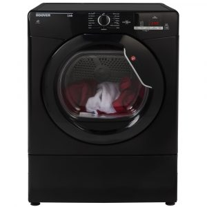 Hoover HLV8DGB 8kg Vented Dryer – BLACK
