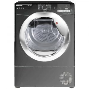 Hoover DXH9A2DCER 9kg Heat Pump Condenser Dryer – GRAPHITE