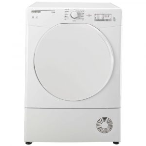 Hoover HLC8LF 8kg Condenser Dryer – WHITE