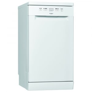 Whirlpool WSFE2B19UK 45cm Freestanding Dishwasher – WHITE