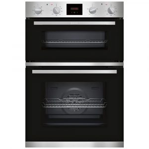 Neff U1HCC0AN0B CircoTherm Built In Double Oven – STAINLESS STEEL