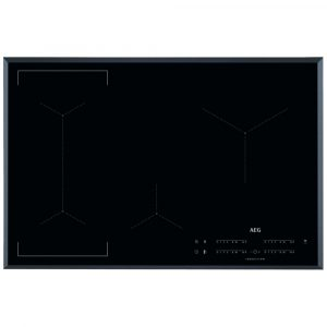 AEG IKE84441FB 78cm 4 Zone MaxiSense Induction Hob – BLACK