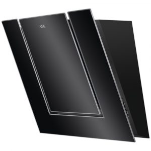 AEG DVB4550B 55cm Angled Chimney Hood – BLACK