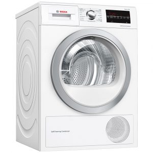 Bosch WTW85493GB 8kg Serie 6 Heat Pump Condenser Dryer – WHITE
