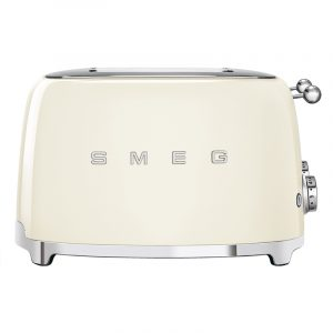 Smeg TSF03CRUK Retro 4 Slice Toaster – CREAM