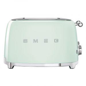 Smeg TSF03PGUK Retro 4 Slice Toaster – PASTEL GREEN
