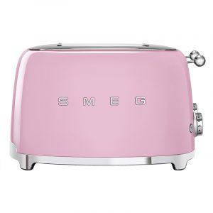 Smeg TSF03PKUK Retro 4 Slice Toaster – PINK
