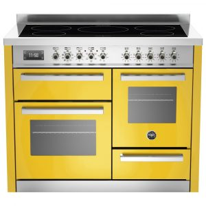Bertazzoni PRO110-5I-MFE-T-GIT 110cm Professional XG Induction Range Cooker – YELLOW