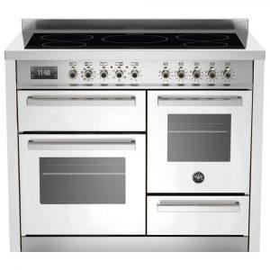 Bertazzoni PRO110-5I-MFE-T-BIT 110cm Professional XG Induction Range Cooker – WHITE