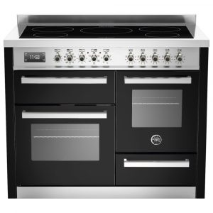 Bertazzoni PRO110-5I-MFE-T-NET 110cm Professional XG Induction Range Cooker – BLACK