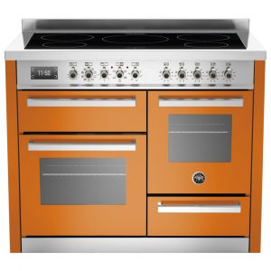 Bertazzoni PRO110-5I-MFE-T-ART 110cm Professional XG Induction Range Cooker – ORANGE