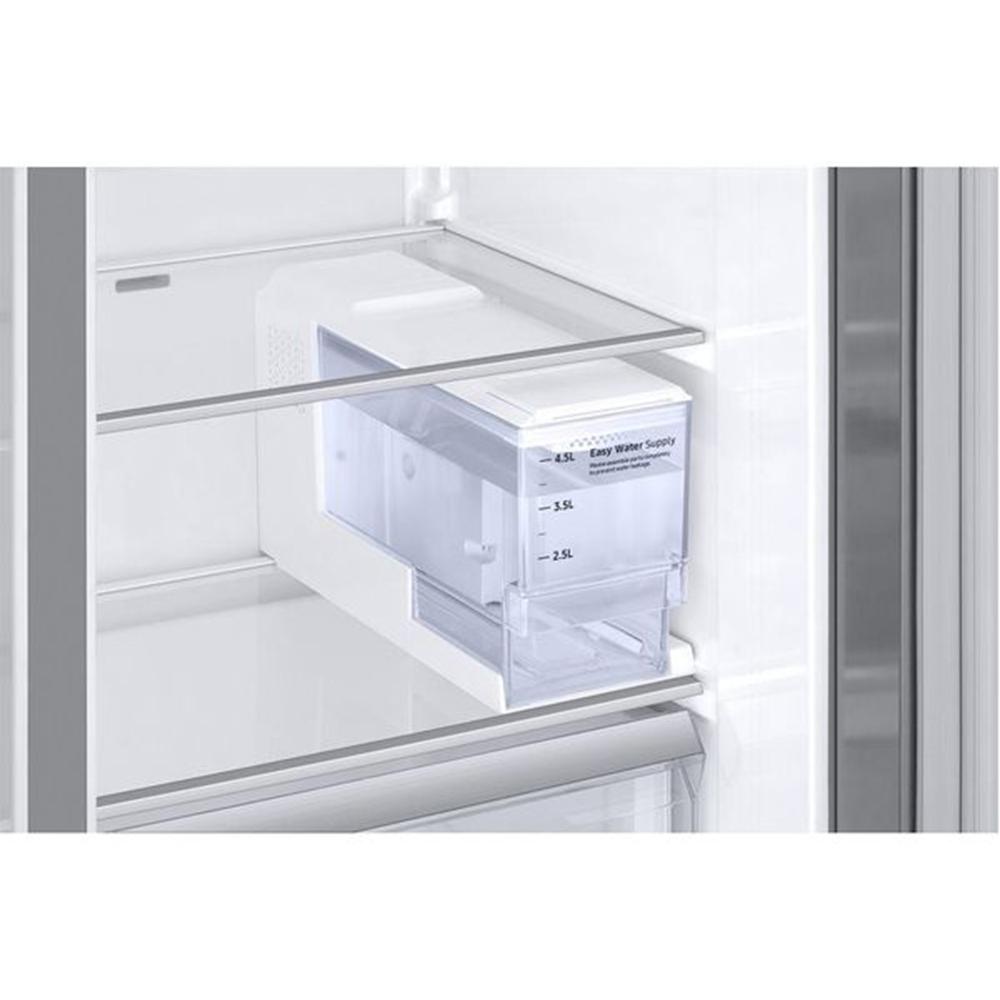 American Fridge Freezer Plumbed: Samsung RS68N8340S9 American Style Fridge Freezer With Non